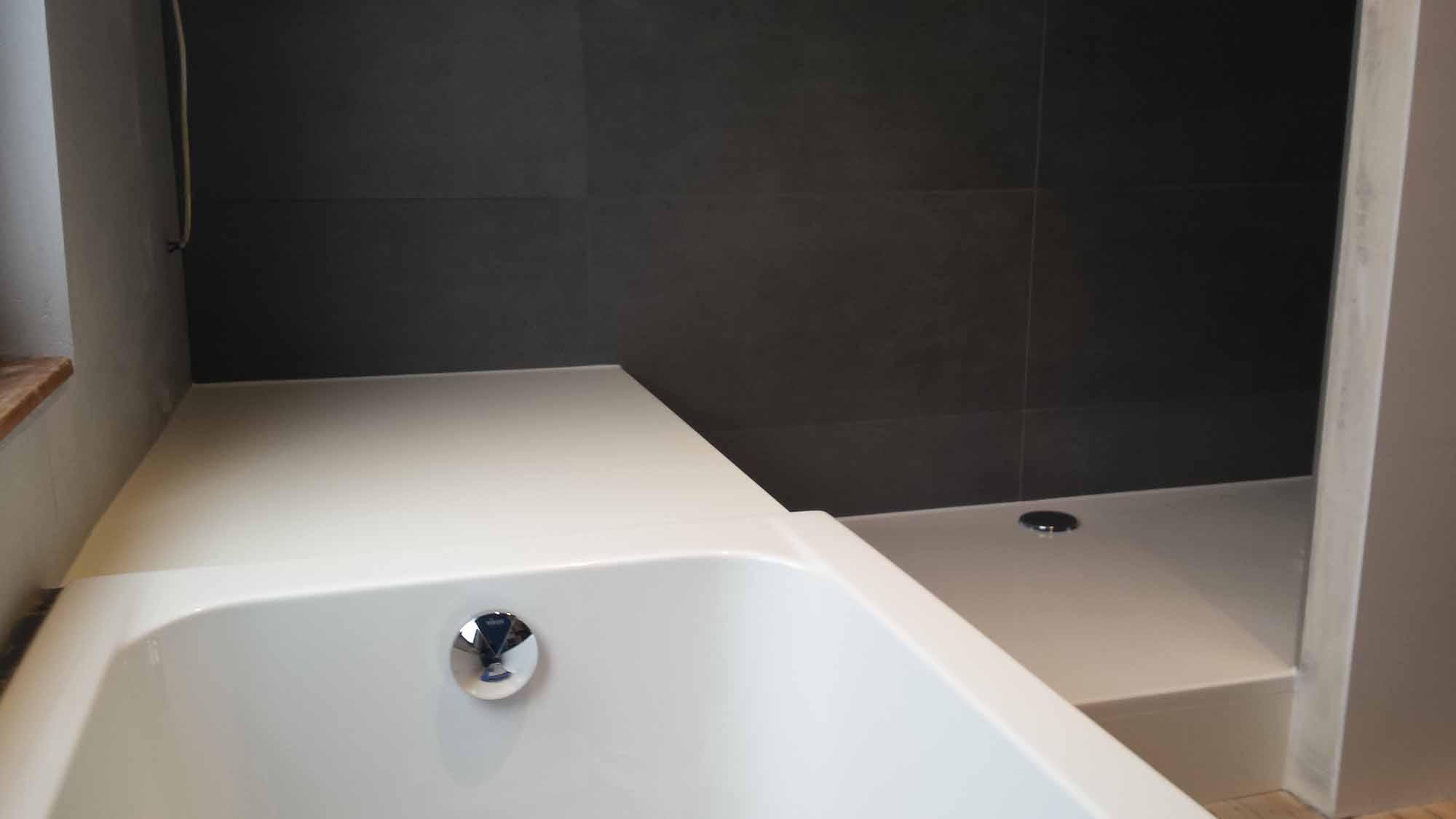 Panneau Mdf Pour Salle De Bain ~ actu r novation d une salle de bains chantier christophe