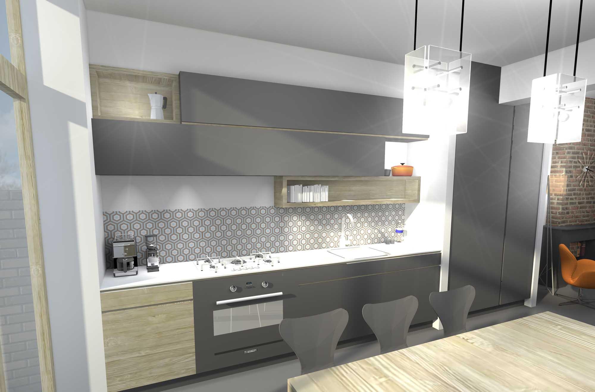 Actu r novation grivegn e li ge 3d christophe for Projet cuisine 3d gratuit